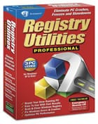 Registry Utilities Professional software box