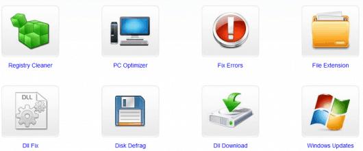 Some of SmartPCFixer's features