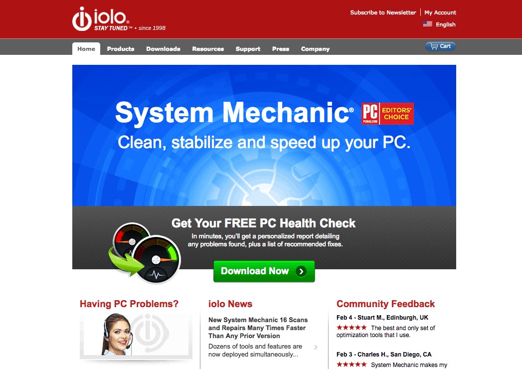 system mechanic trial download