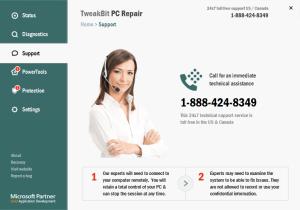 TweakBit PC Repair's Customer Support