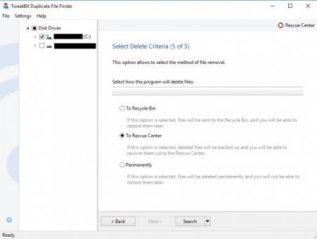 TweakBit PC Repair Duplicate Files Tool